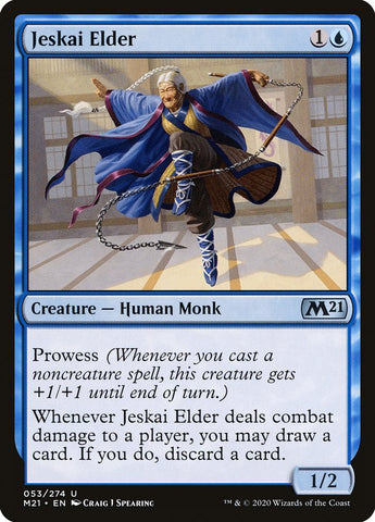 Jeskai Elder [Core Set 2021]