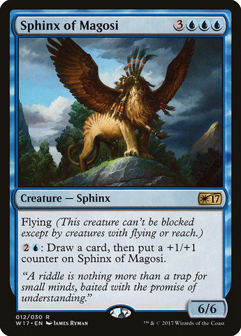 Sphinx of Magosi [Welcome Deck 2017]
