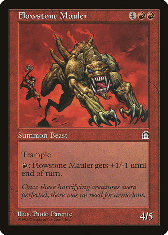 Flowstone Mauler [Stronghold]