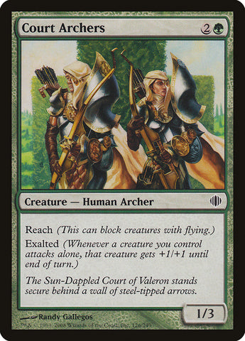 Court Archers [Shards of Alara]