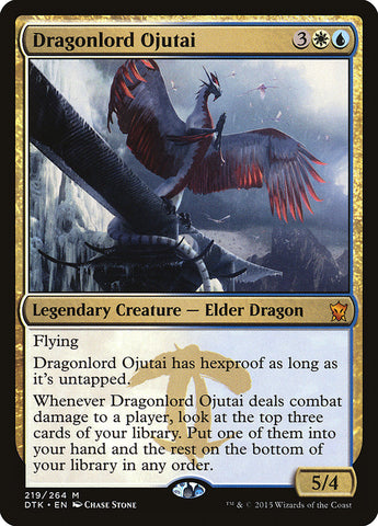 Dragonlord Ojutai [Dragons of Tarkir]
