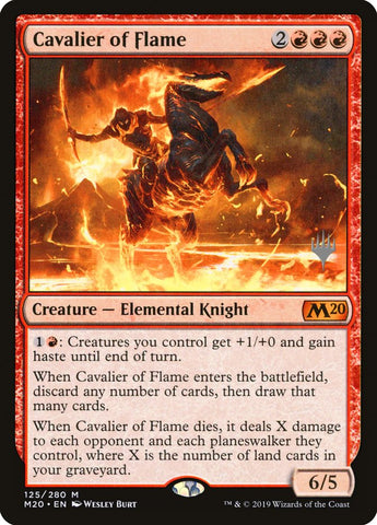 Cavalier of Flame [Promo Pack: Core Set 2020]