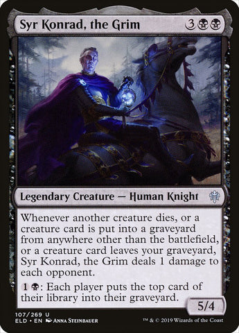 Syr Konrad, the Grim [Throne of Eldraine]