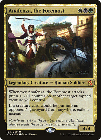 Anafenza, the Foremost [Prerelease Cards]