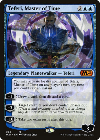 Teferi, Master of Time (276) [Core Set 2021]