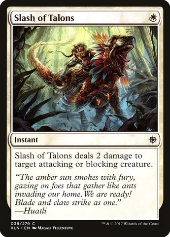 Slash of Talons [Ixalan]