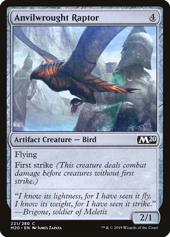 Anvilwrought Raptor [Core Set 2020]