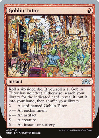 Goblin Tutor [Unsanctioned]