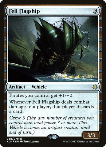 Fell Flagship [Prerelease Cards]