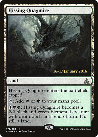 Hissing Quagmire [Prerelease Cards]