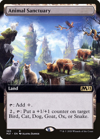 Animal Sanctuary (Extended Art) [Core Set 2021]