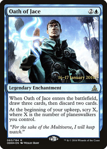 Oath of Jace [Prerelease Cards]