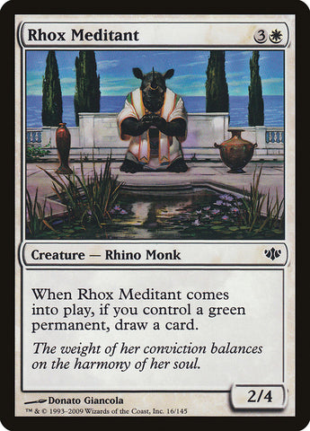 Rhox Meditant [Conflux]