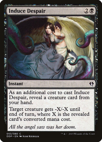 Induce Despair [Duel Decks: Zendikar vs. Eldrazi]