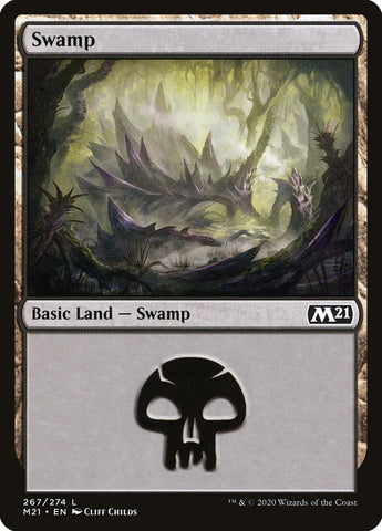 Swamp (267) [Core Set 2021]