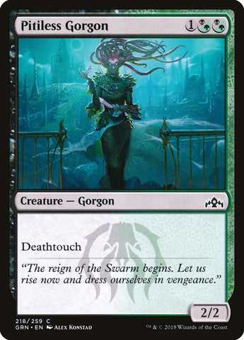 Pitiless Gorgon [Guilds of Ravnica]