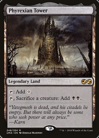 Phyrexian Tower [Ultimate Masters]