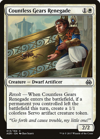 Countless Gears Renegade [Aether Revolt]