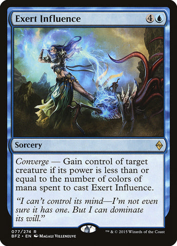 Exert Influence [Battle for Zendikar]