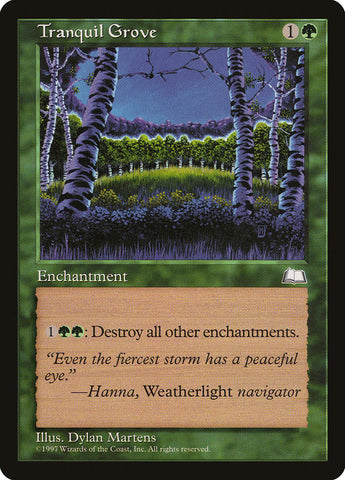 Tranquil Grove [Weatherlight]