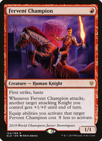 Fervent Champion [Throne of Eldraine]