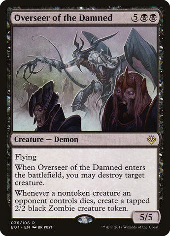 Overseer of the Damned [Archenemy: Nicol Bolas]