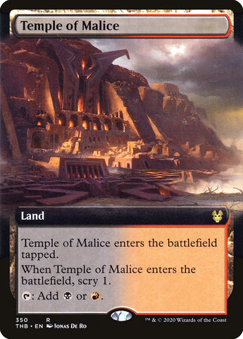 Temple of Malice (Extended Art) [Theros Beyond Death]