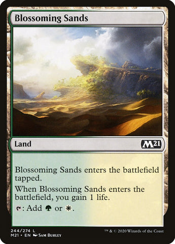 Blossoming Sands [Core Set 2021]