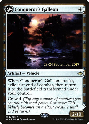 Conqueror's Galleon [Prerelease Cards]