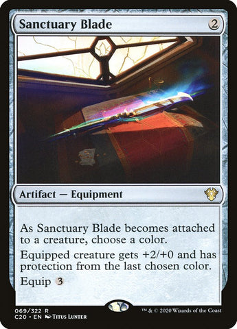 Sanctuary Blade [Commander 2020]