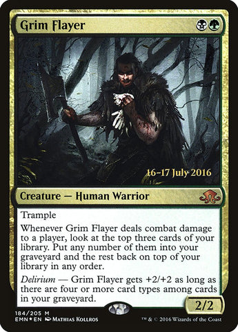 Grim Flayer [Prerelease Cards]