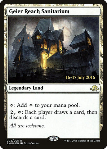 Geier Reach Sanitarium [Prerelease Cards]