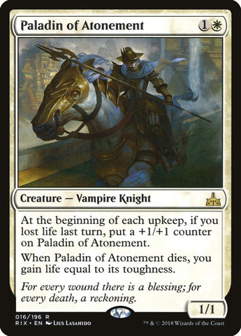 Paladin of Atonement [Rivals of Ixalan]