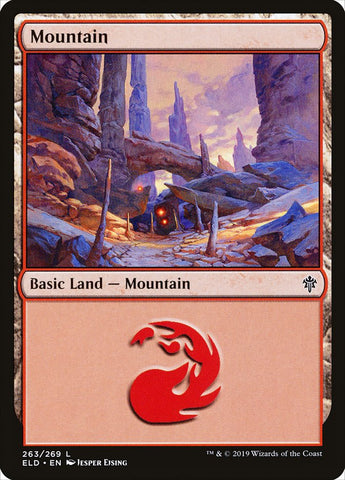 Mountain (263) [Throne of Eldraine]