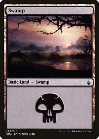 Swamp (299) [Commander Anthology]