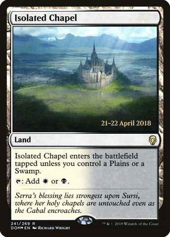 Isolated Chapel [Prerelease Cards]