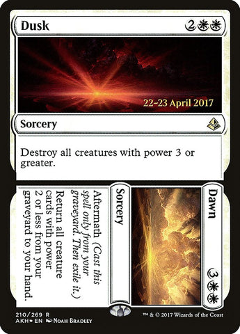 Dusk // Dawn [Prerelease Cards]