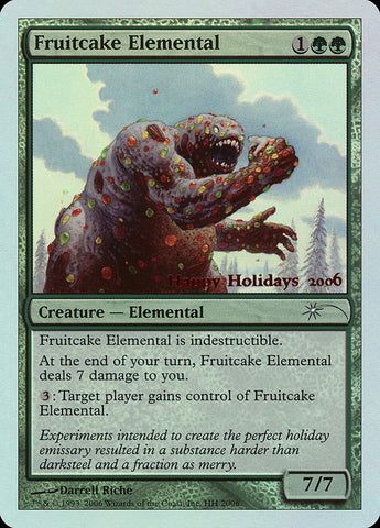 Fruitcake Elemental [Special Occasion]