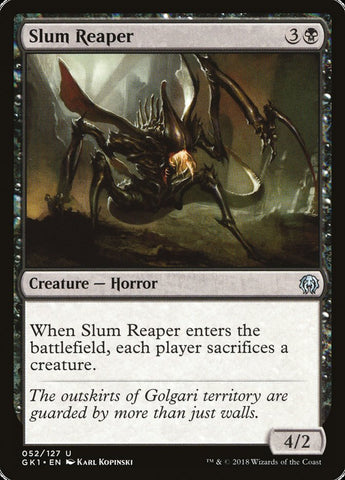 Slum Reaper [Guilds of Ravnica: Guild Kits]