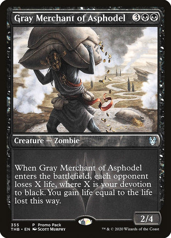 Gray Merchant of Asphodel [Promo Pack: Theros Beyond Death]
