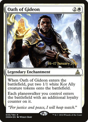 Oath of Gideon [Prerelease Cards]