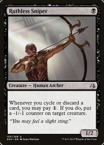 Ruthless Sniper [Amonkhet]