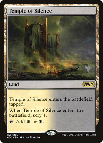 Temple of Silence [Promo Pack: Core Set 2020]