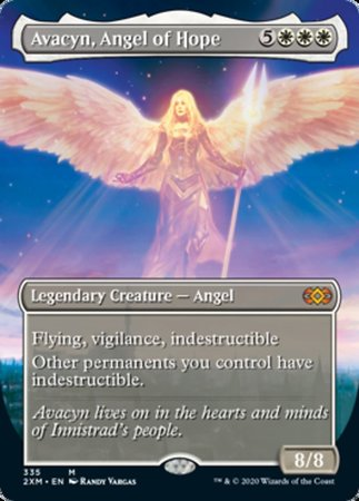 Avacyn, Angel of Hope (Borderless) [Double Masters]