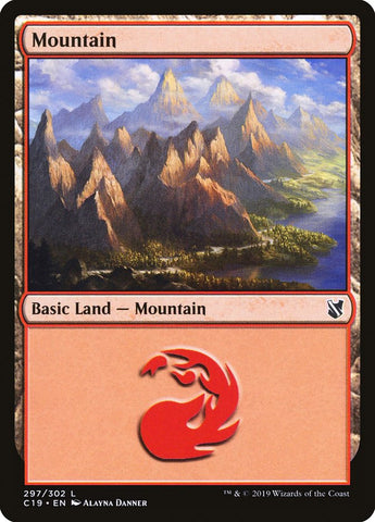 Mountain (297) [Commander 2019]