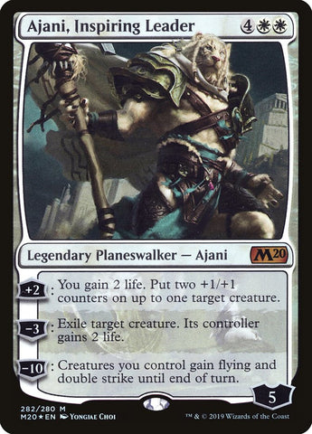 Ajani, Inspiring Leader [Core Set 2020]