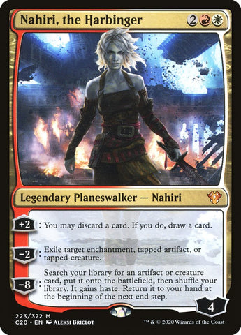 Nahiri, the Harbinger [Commander 2020]