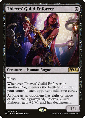 Thieves' Guild Enforcer [Core Set 2021]