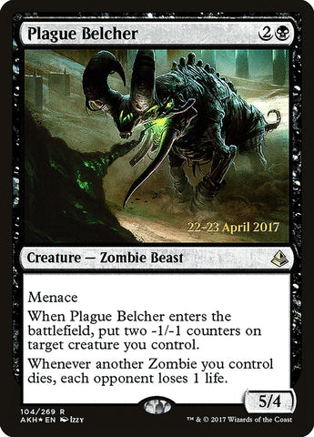 Plague Belcher [Prerelease Cards]