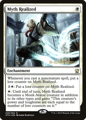 Myth Realized [Prerelease Cards]